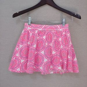 BOGO Old Navy Pink Pattern Skirt